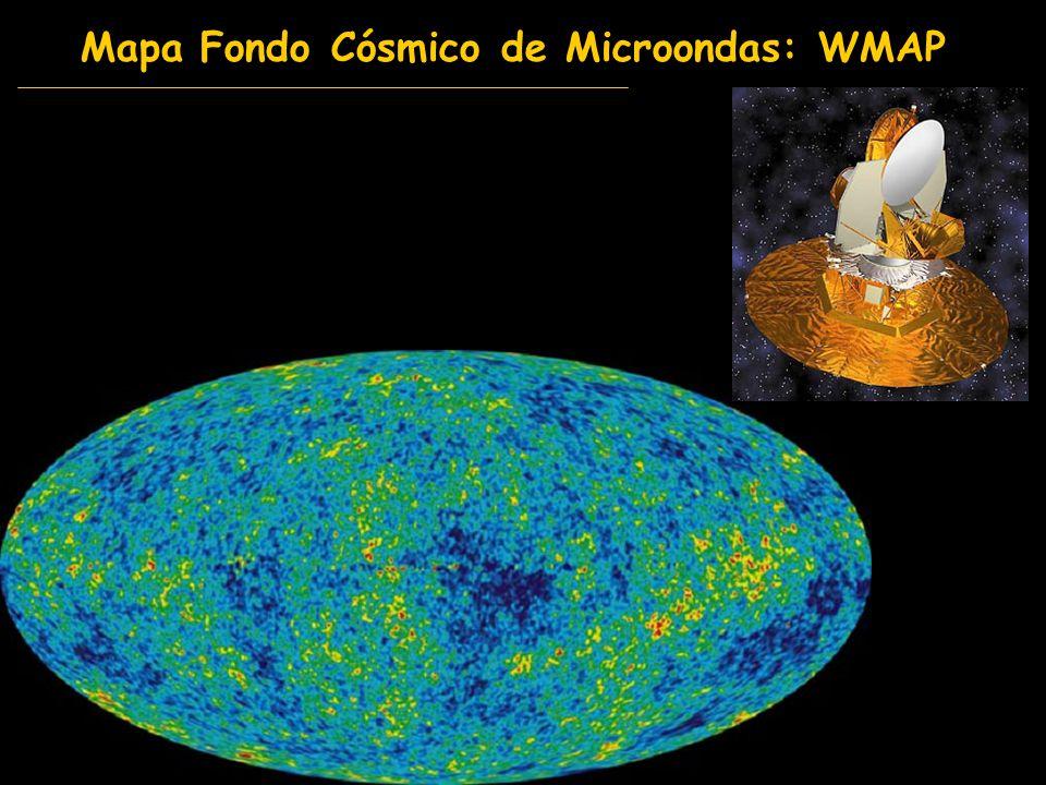 Mapa Fondo Cósmico de Microondas: WMAP