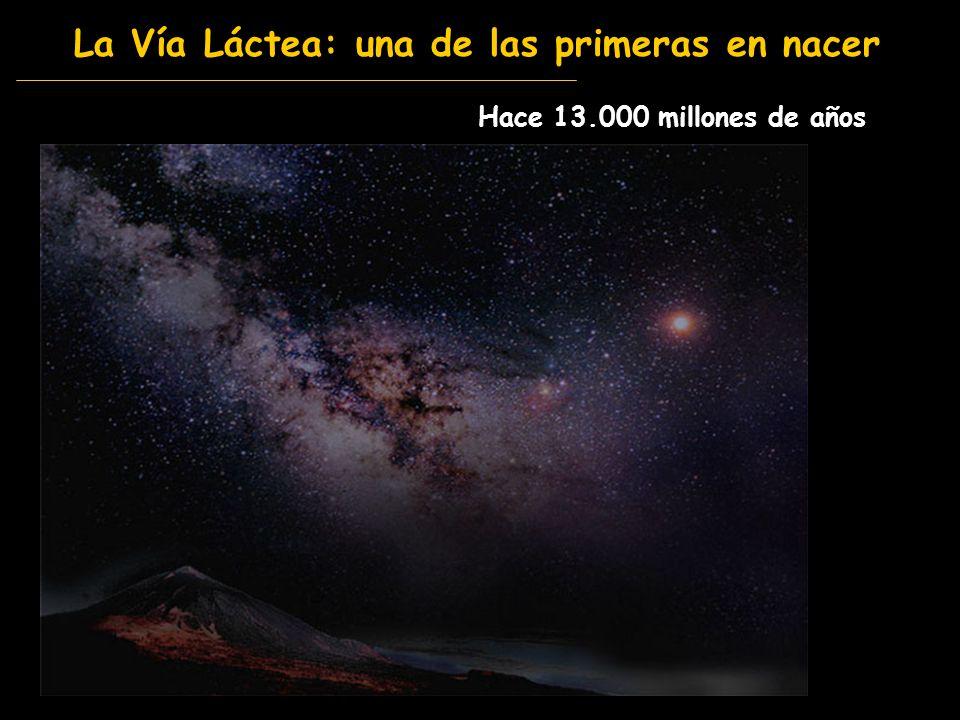 La Vía Láctea: una de las primeras en nacer