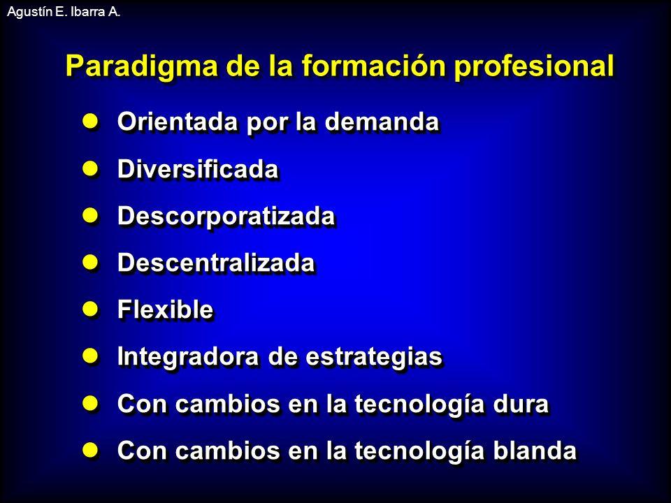 Paradigma de la formación profesional