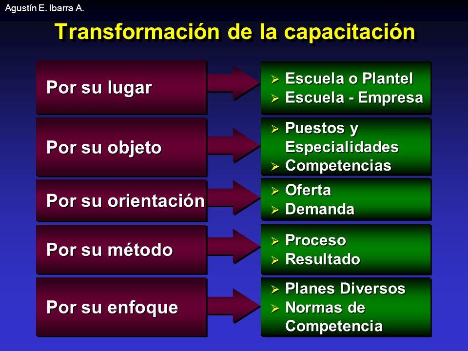 Transformación de la capacitación