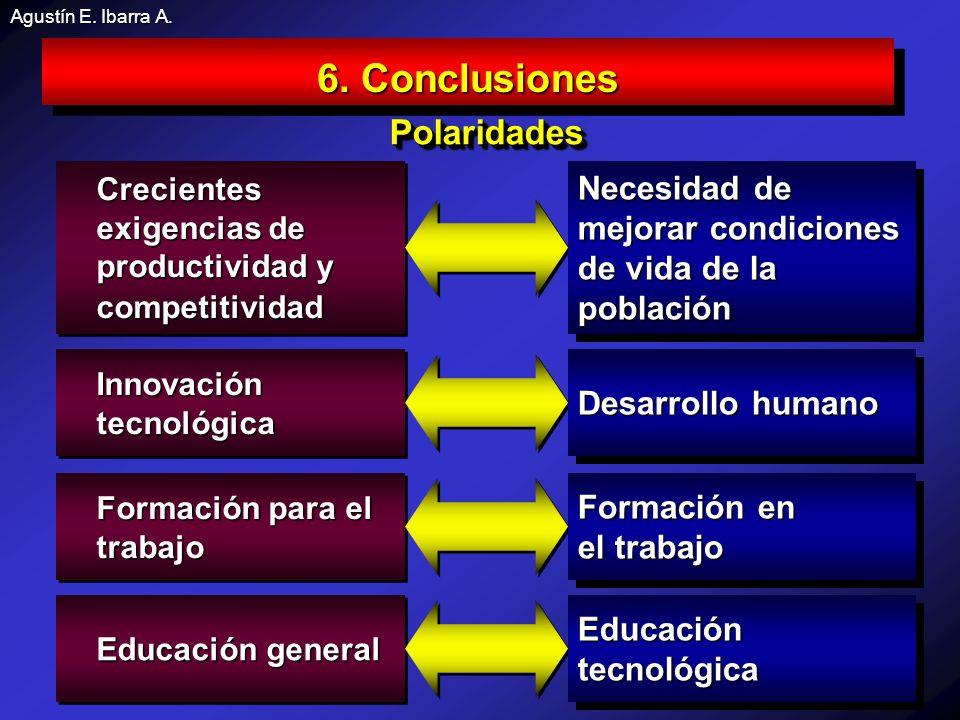 6. Conclusiones Polaridades