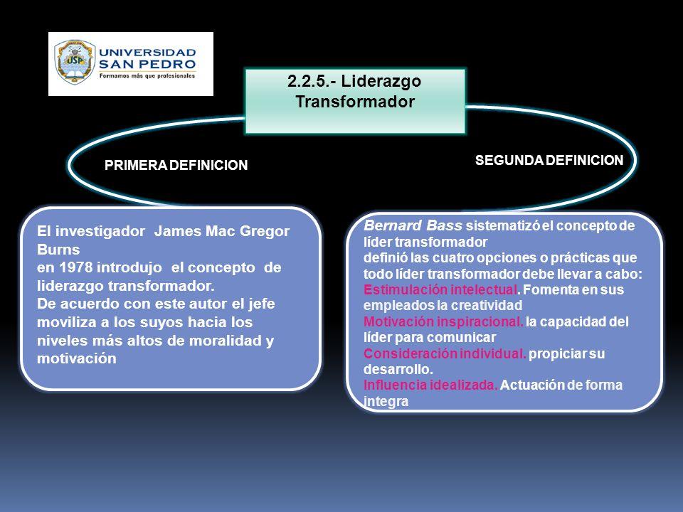 2.2.5.- Liderazgo Transformador