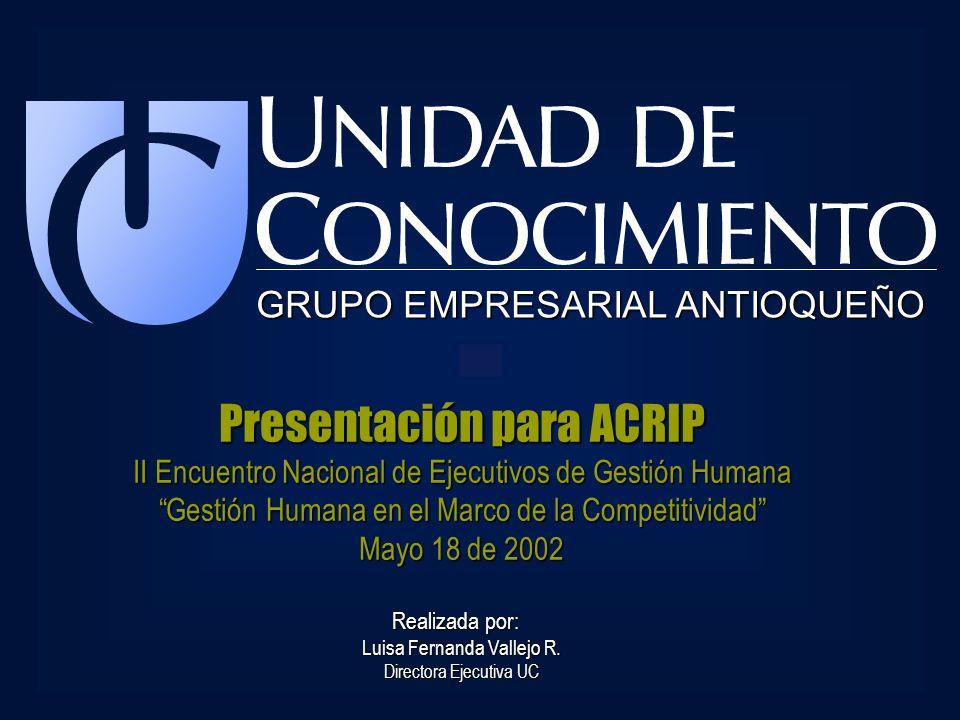 Presentación para ACRIP