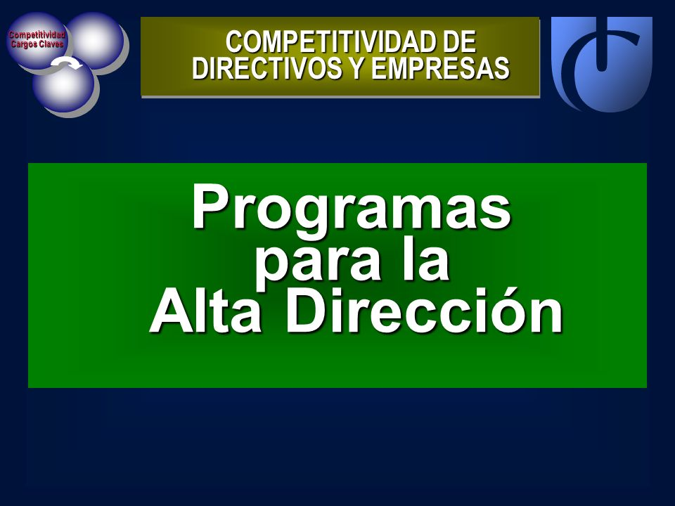 COMPETITIVIDAD DE DIRECTIVOS Y EMPRESAS