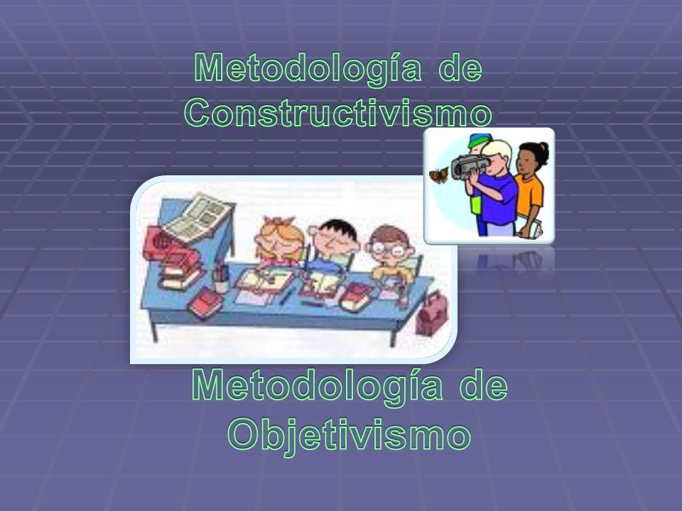 Metodología de Constructivismo