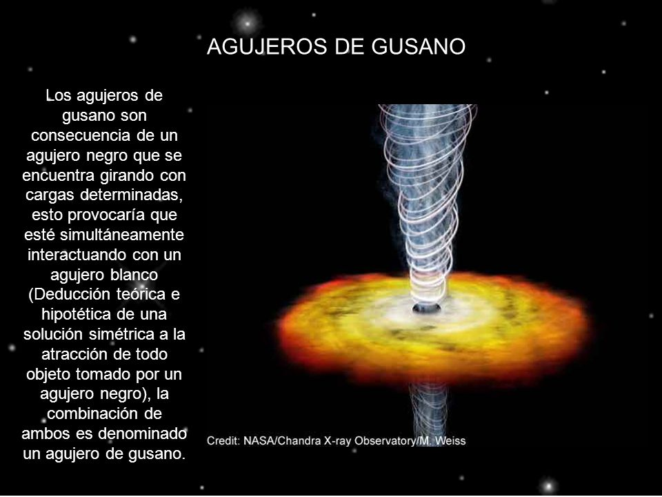 AGUJEROS DE GUSANO