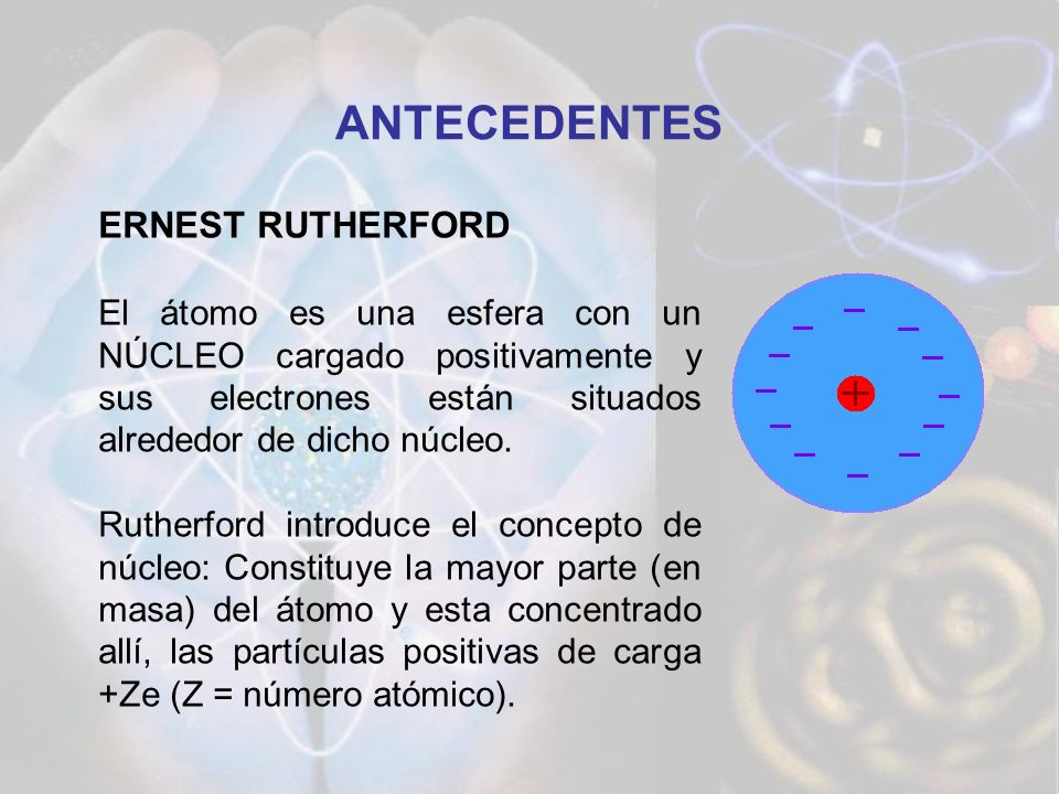 ANTECEDENTES ERNEST RUTHERFORD