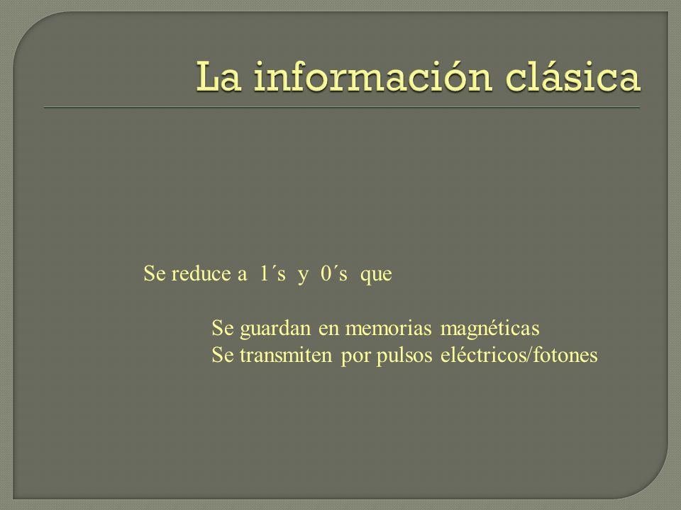 La información clásica
