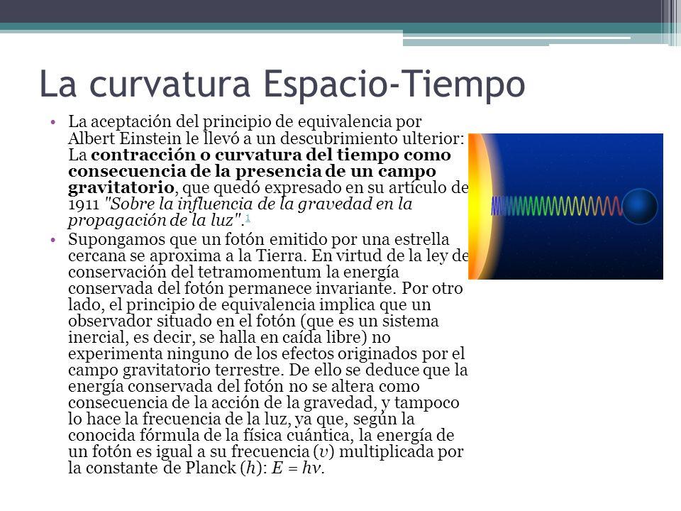 La curvatura Espacio-Tiempo