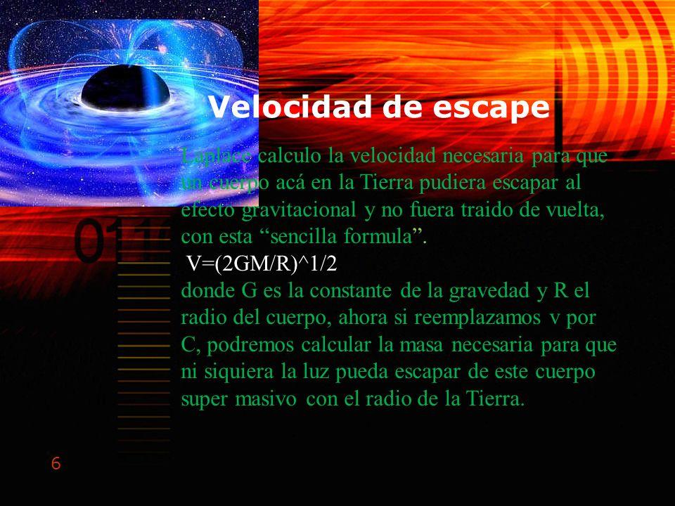 Velocidad de escape