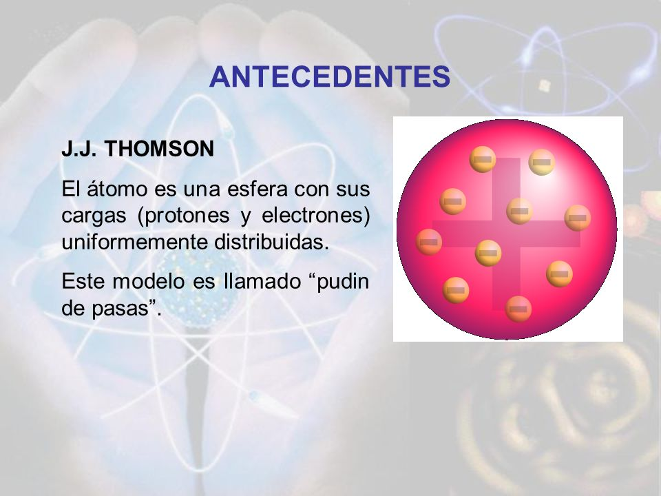 ANTECEDENTES J.J. THOMSON