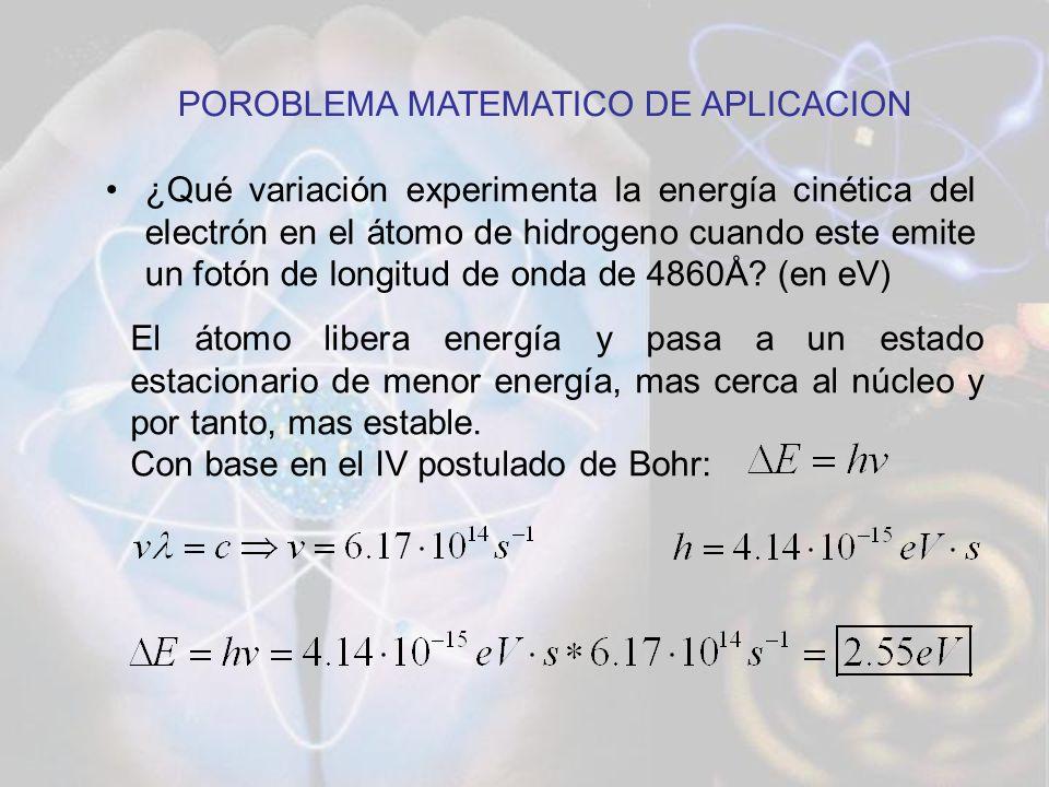 POROBLEMA MATEMATICO DE APLICACION