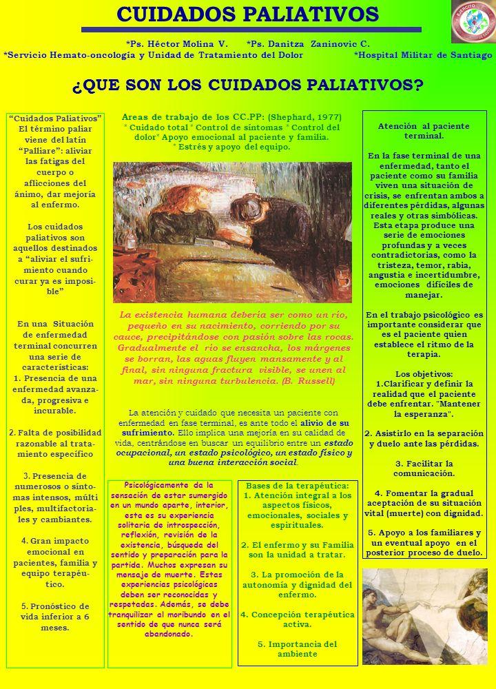CUIDADOS PALIATIVOS ¿QUE SON LOS CUIDADOS PALIATIVOS