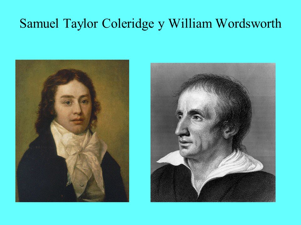Samuel Taylor Coleridge y William Wordsworth