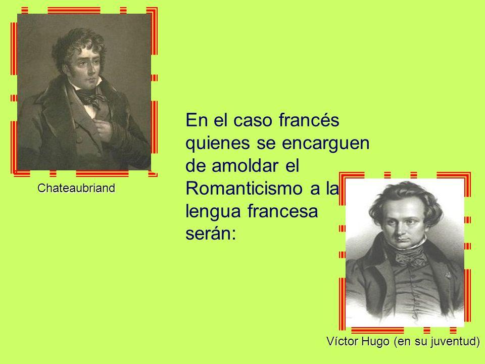 Víctor Hugo (en su juventud)