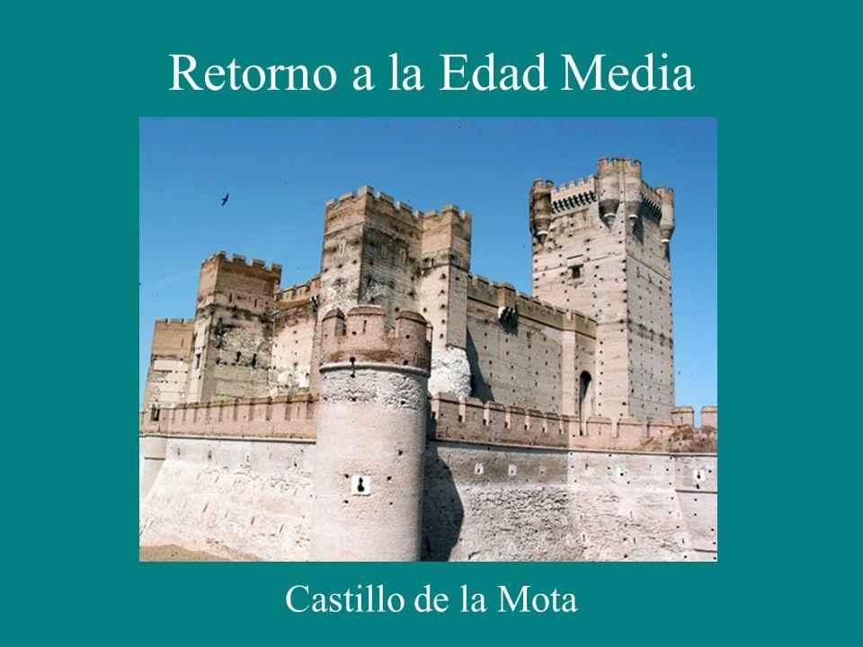 Retorno a la Edad Media Castillo de la Mota