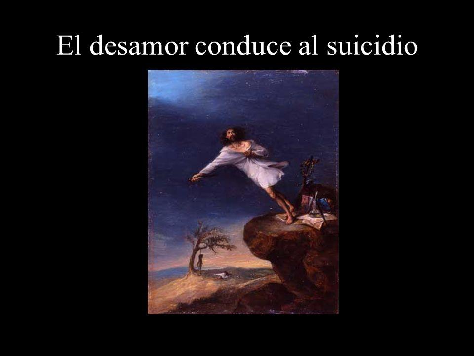 El desamor conduce al suicidio