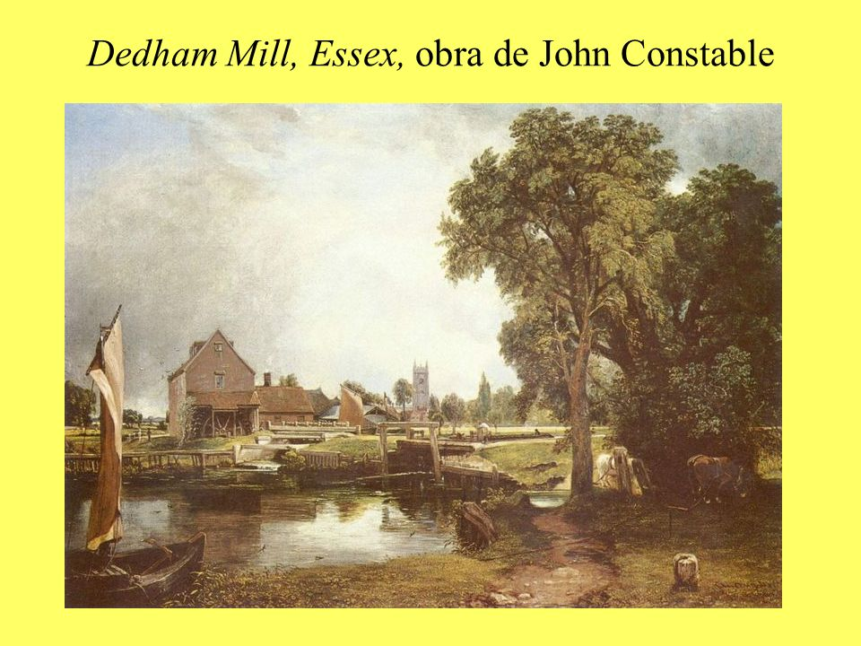 Dedham Mill, Essex, obra de John Constable