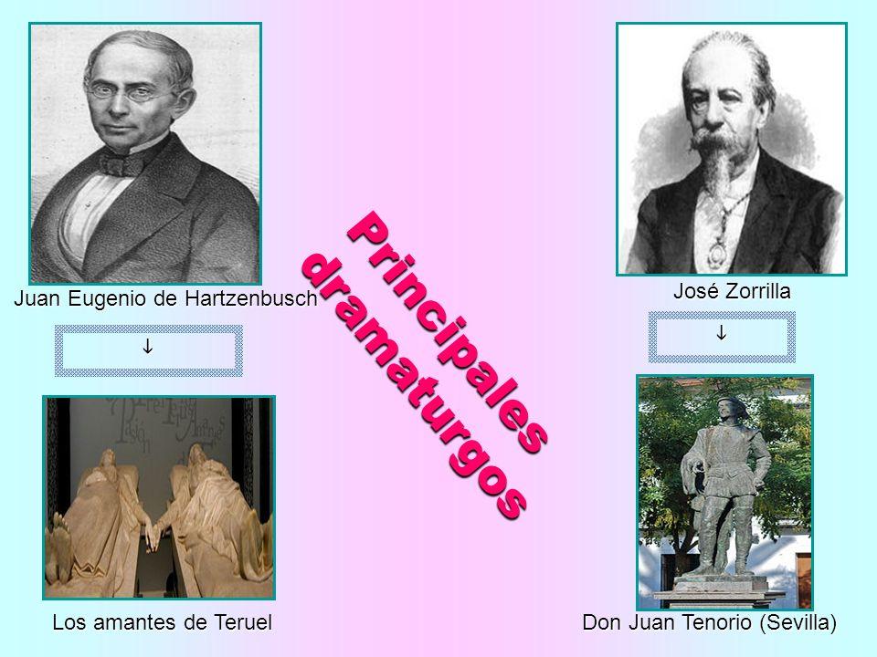 Principales dramaturgos