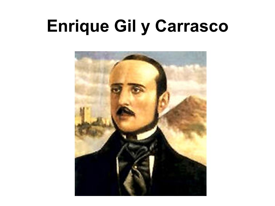 Enrique Gil y Carrasco