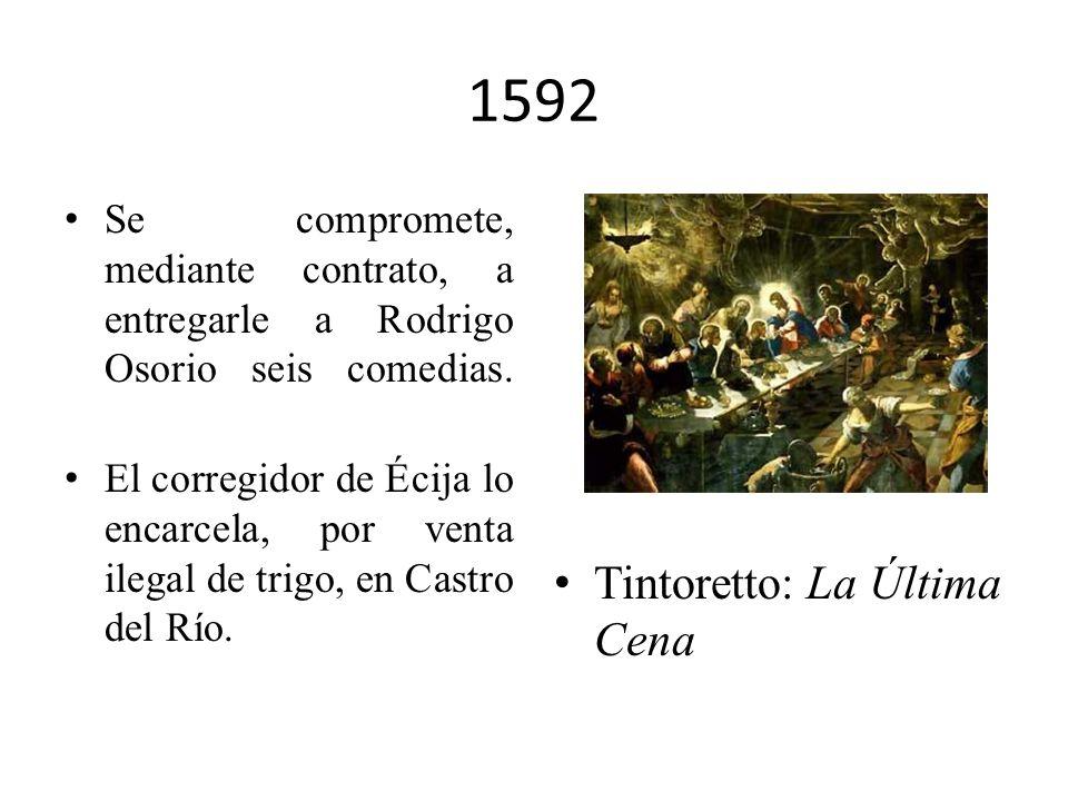 1592 Tintoretto: La Última Cena