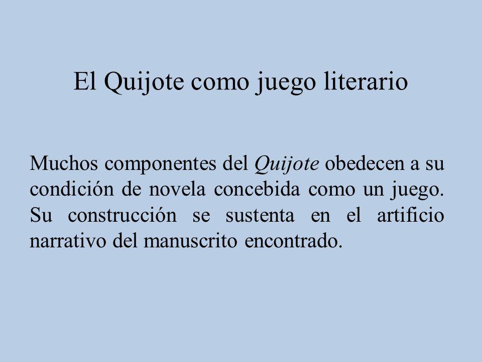 El Quijote como juego literario
