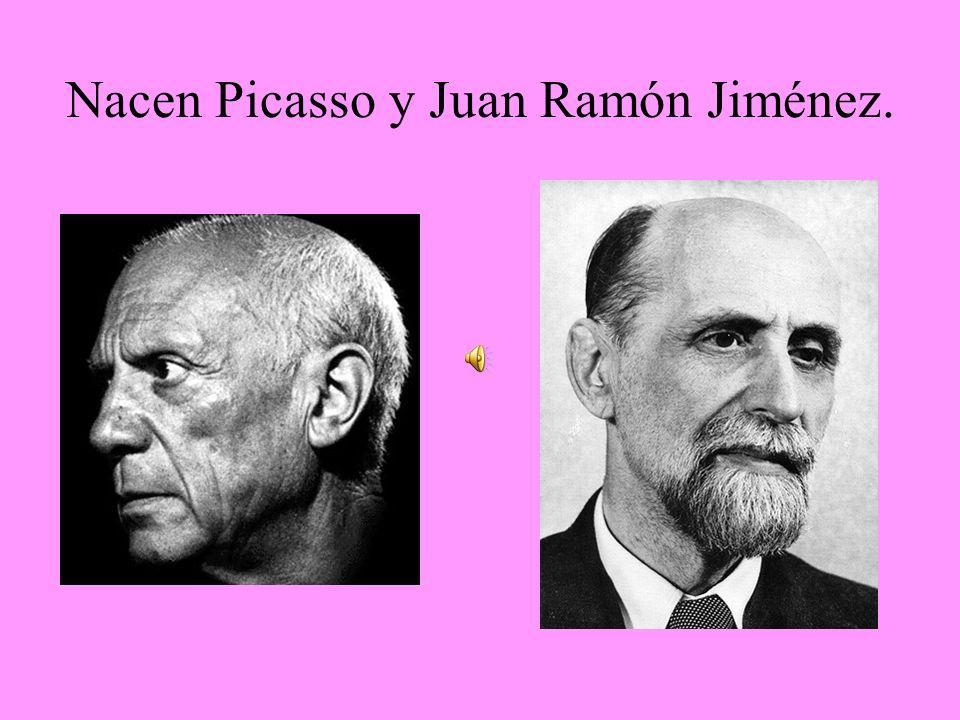 Nacen Picasso y Juan Ramón Jiménez.