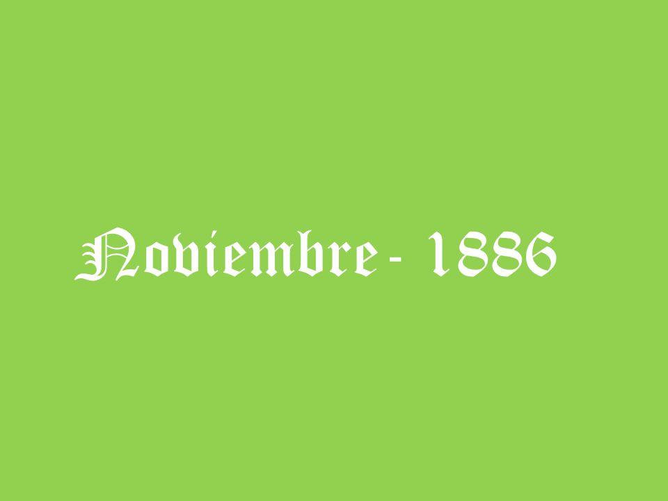 Noviembre- 1886