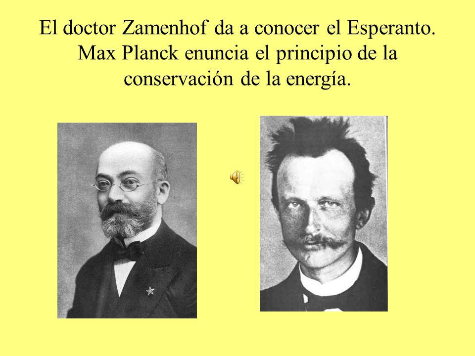 El doctor Zamenhof da a conocer el Esperanto