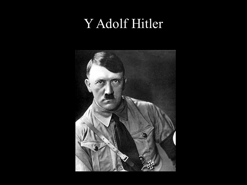 Y Adolf Hitler