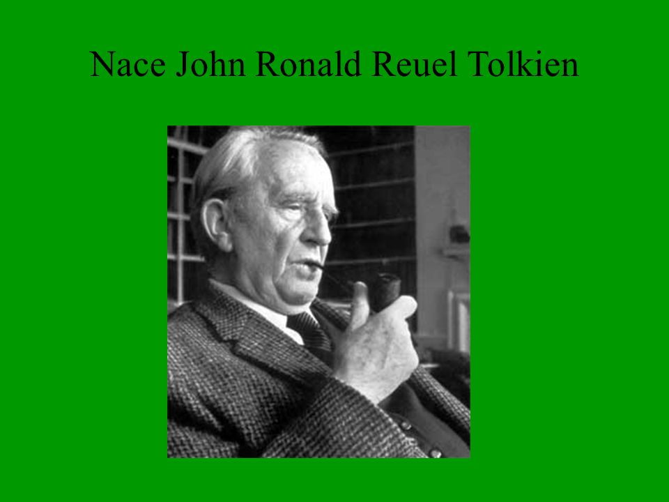 Nace John Ronald Reuel Tolkien