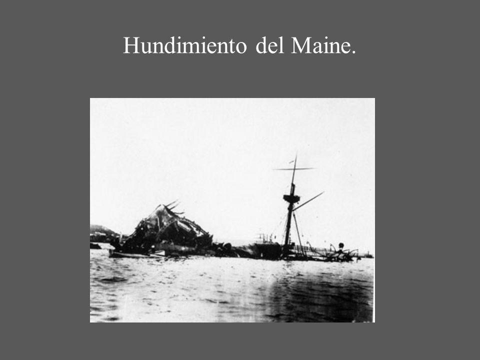 Hundimiento del Maine.