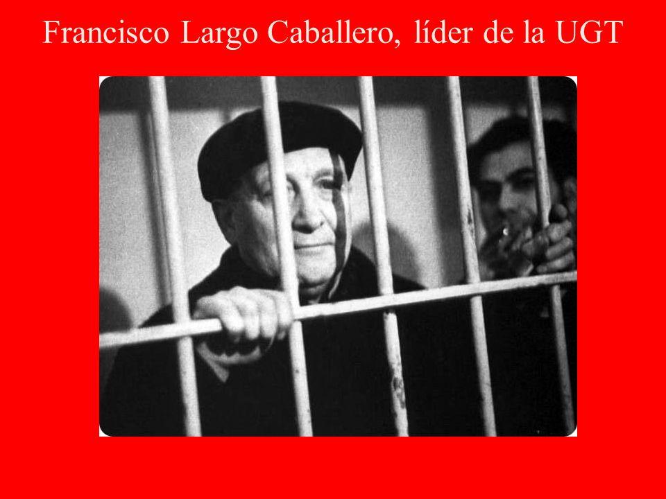 Francisco Largo Caballero, líder de la UGT