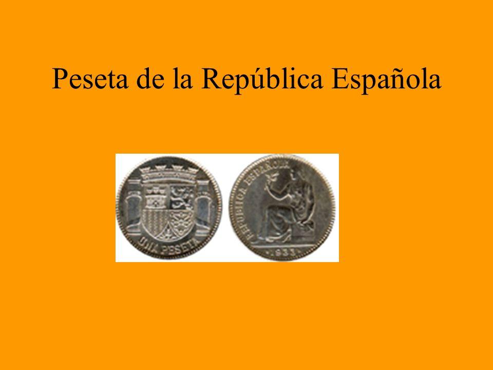 Peseta de la República Española