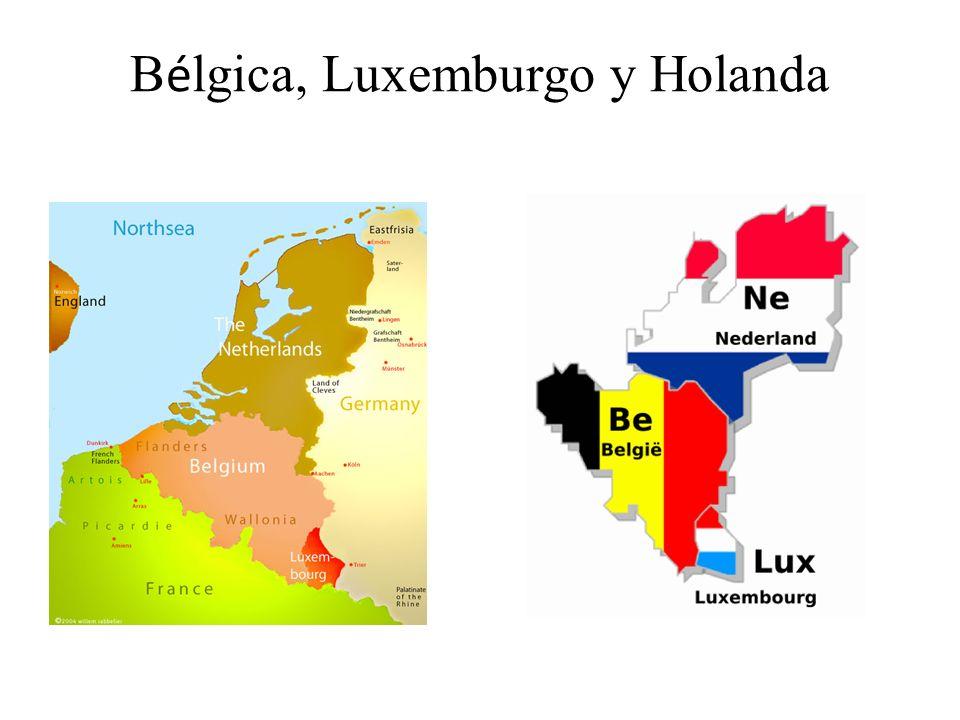 Bélgica, Luxemburgo y Holanda