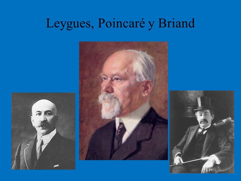 Leygues, Poincaré y Briand