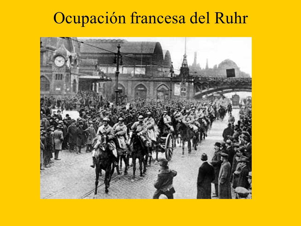 Ocupación francesa del Ruhr