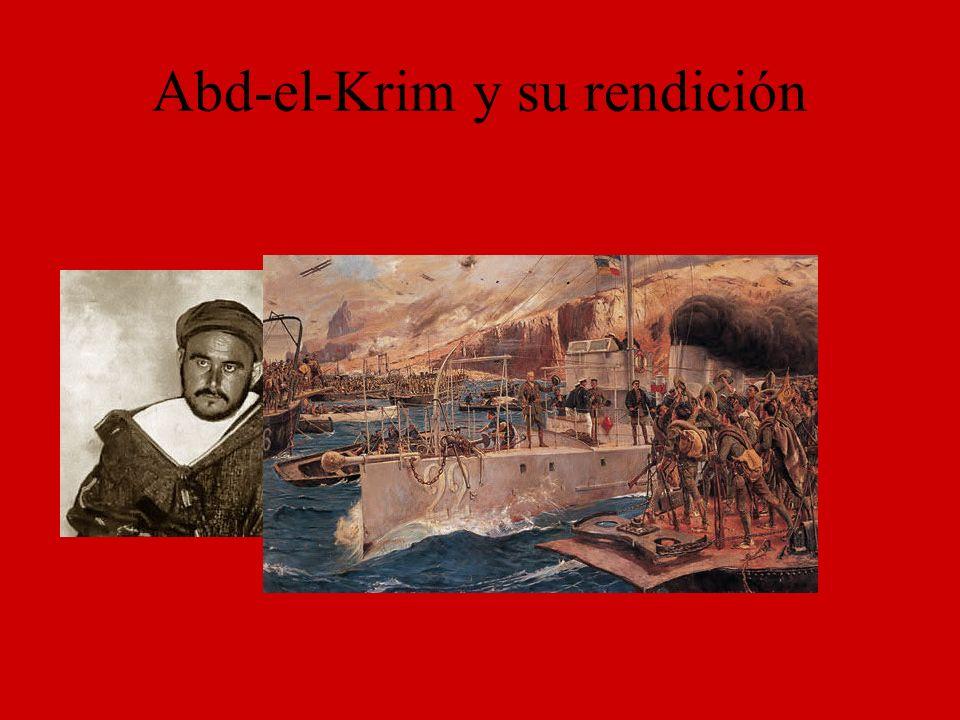Abd-el-Krim y su rendición