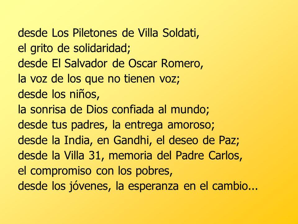 desde Los Piletones de Villa Soldati,