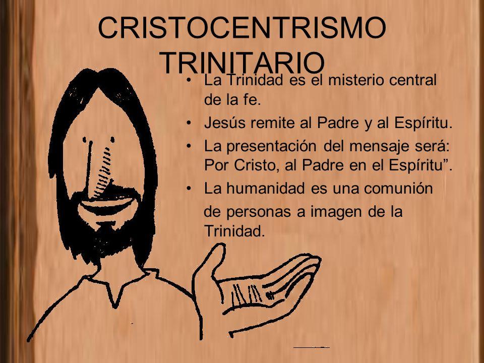 CRISTOCENTRISMO TRINITARIO