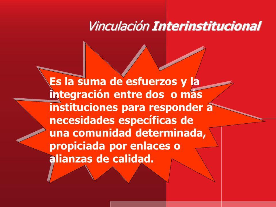 Vinculación Interinstitucional