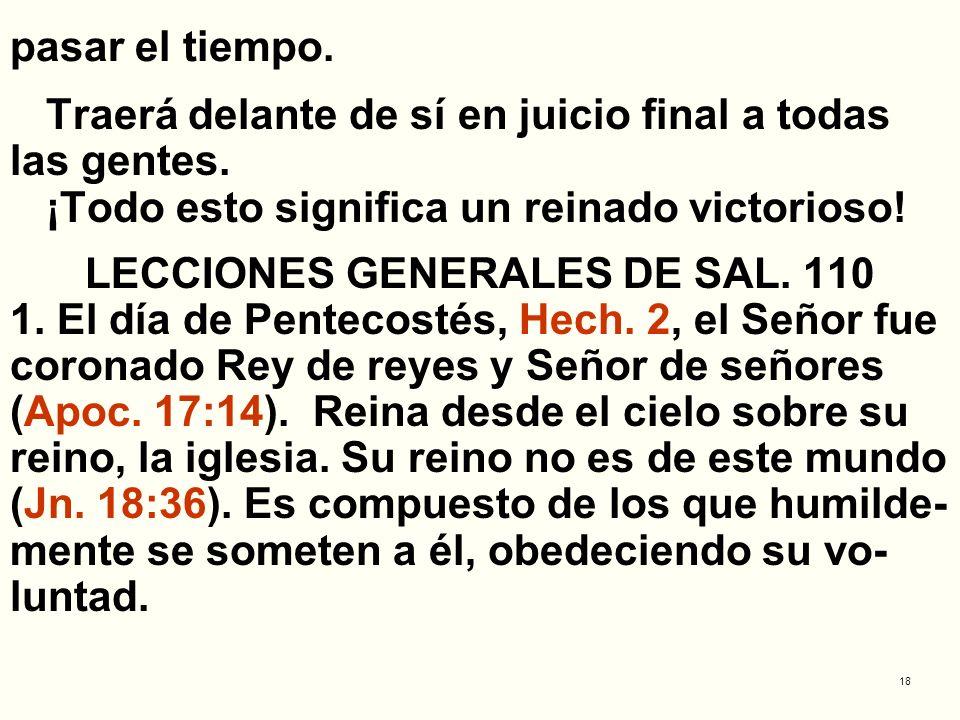 LECCIONES GENERALES DE SAL. 110
