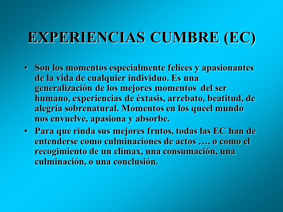 EXPERIENCIAS CUMBRE (EC)