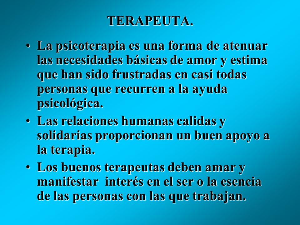 TERAPEUTA.