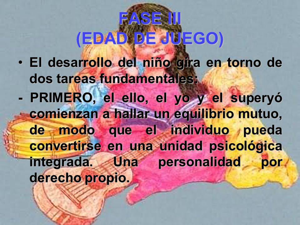 FASE III (EDAD DE JUEGO)