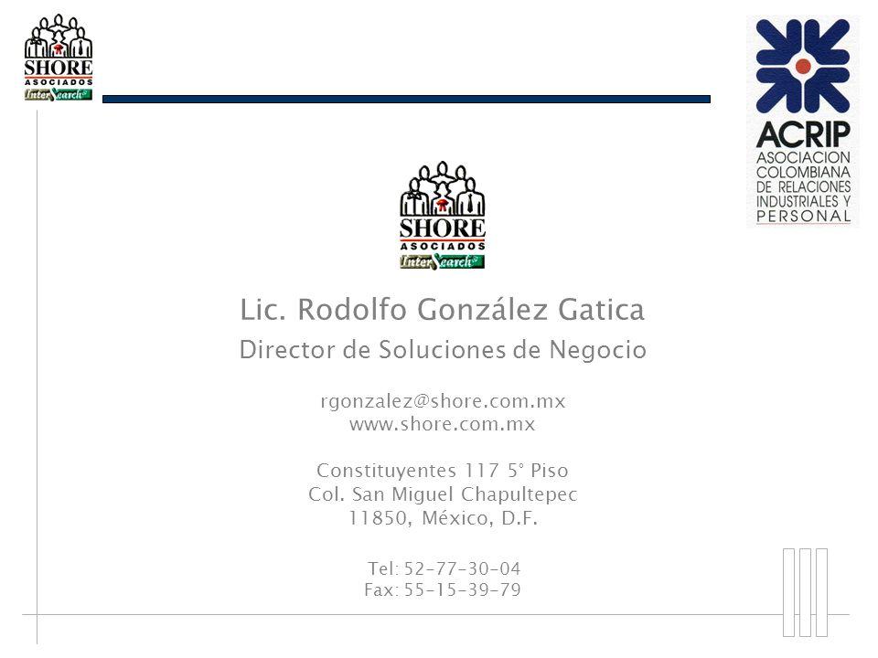 Lic. Rodolfo González Gatica