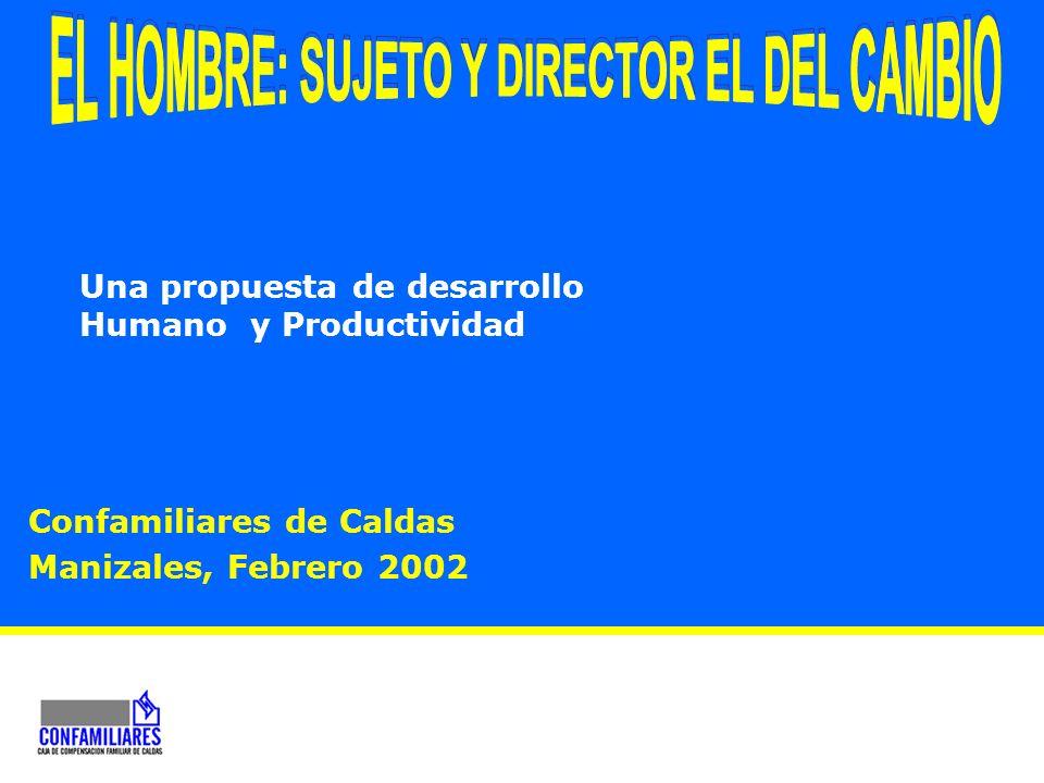 EL HOMBRE: SUJETO Y DIRECTOR EL DEL CAMBIO