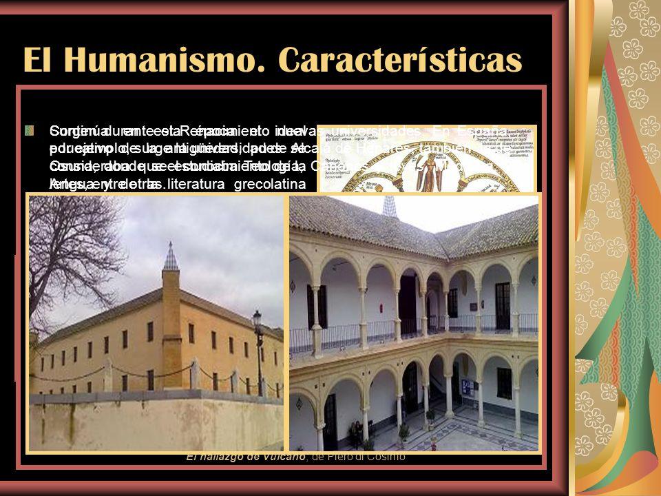El Humanismo. Características