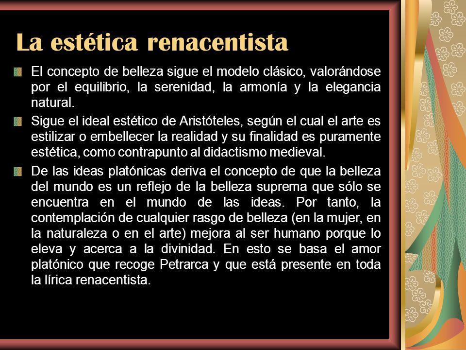 La estética renacentista