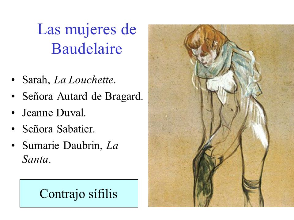 Las mujeres de Baudelaire